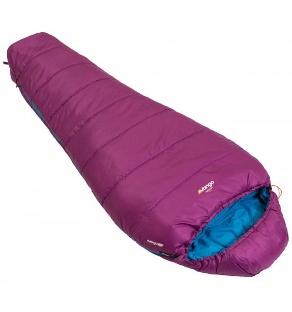 Vango Nitestar 250s Sleeping Bag Plum Purple