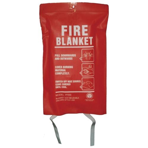 Bridela Fire Blanket 1m x 1m BS/EN1869